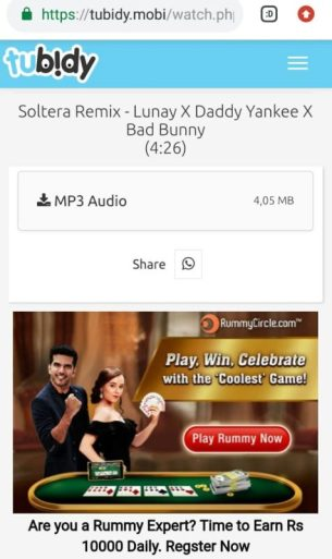 Tubidy Mobi MP3 Download for Android and iOS - Music