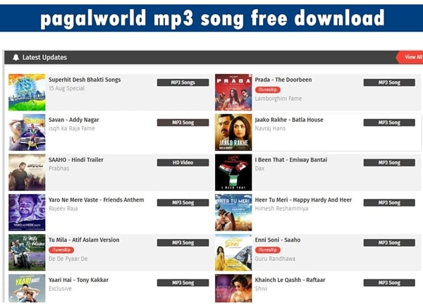 best site to download free mp3 songs