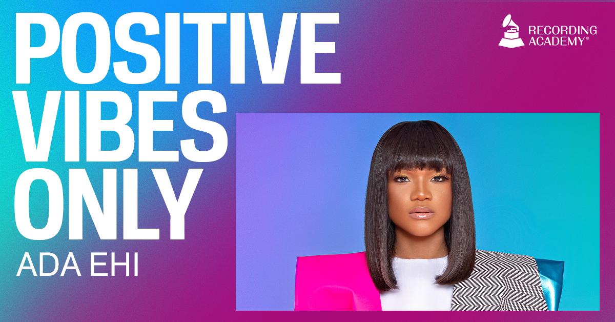 Ada Ehi - Congratulations live – Grammy's PositiveVibesOnly