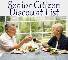 Seniors Save 10% - 20% off Your Bill at 74 Different Eateries
