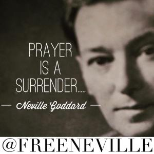 neville goddard prayer