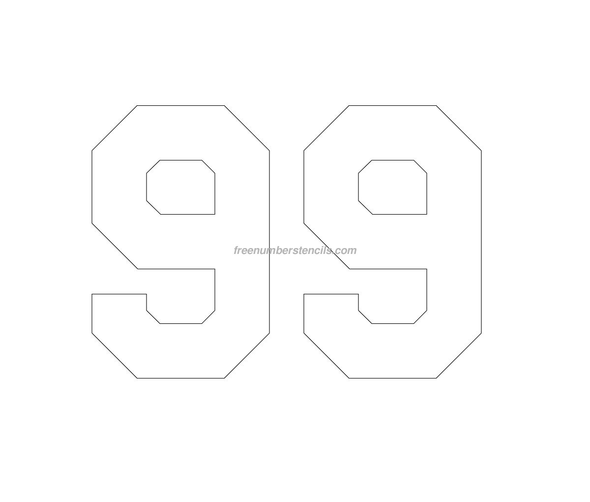 Jersey Printable Numbers Archives