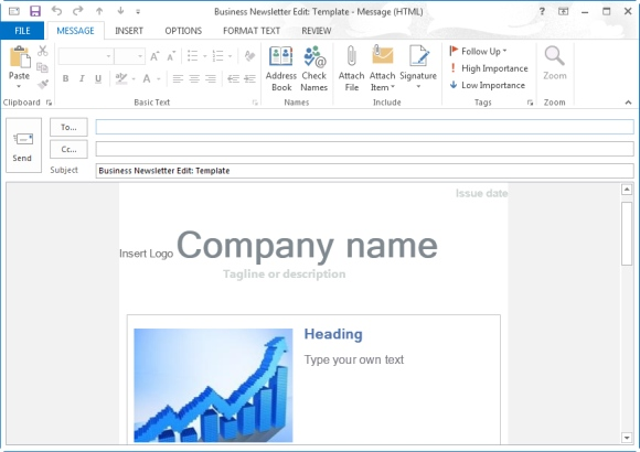 creating email templates in outlook