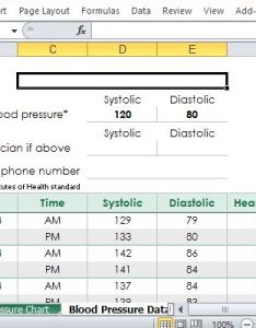 also free blood pressure tracker template for excel rh freeofficetemplates