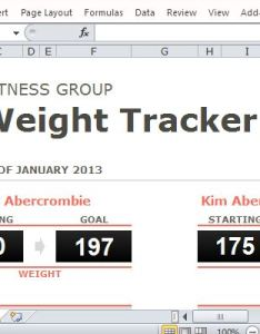 also group weight loss tracker template for excel rh freeofficetemplates