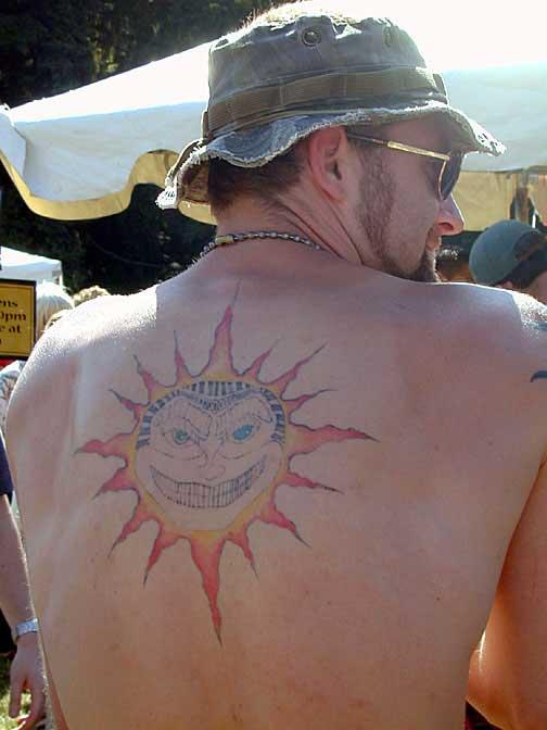 An interesting tattoo.