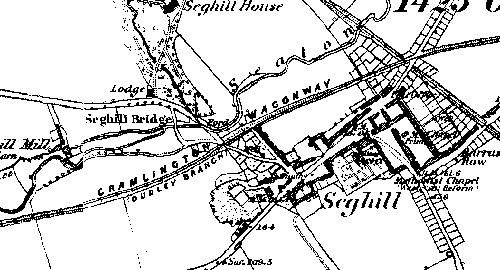 Seghill in 1864