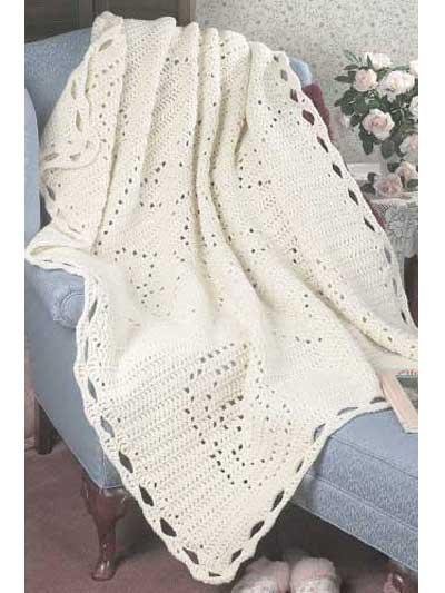 Wedding Afghan Crochet Pattern : wedding, afghan, crochet, pattern, Filet, Afghan, Crochet, Patterns