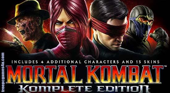 Mortal Kombat Komplete Edition Full Download Game For PC Free