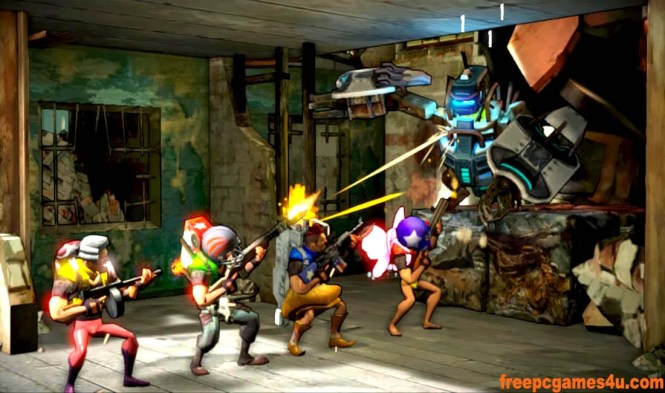 Shoot Many Robots PC Game Download