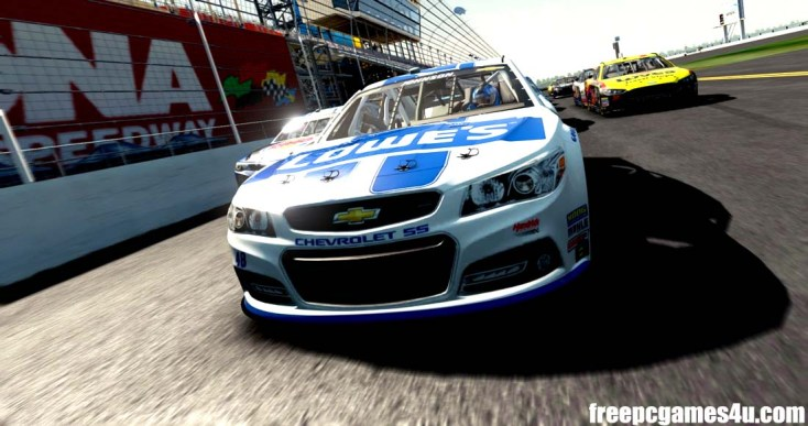 Free Download NASCAR 14 Full Version PC Game