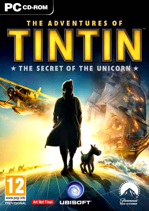 The Adventures of Tintin the Secret of Unicorn Full PC Game Free Download