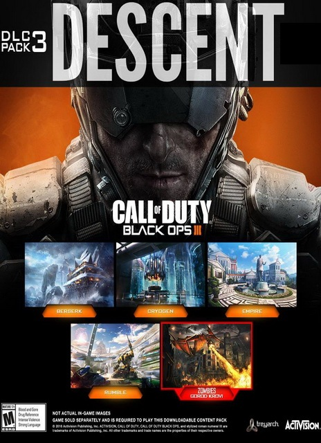 Call of Duty Black Ops III Descent PC Games Info - System Requirements