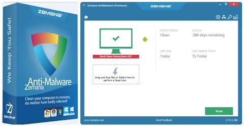 Zemana AntiMalware Premium Free Download for Windows