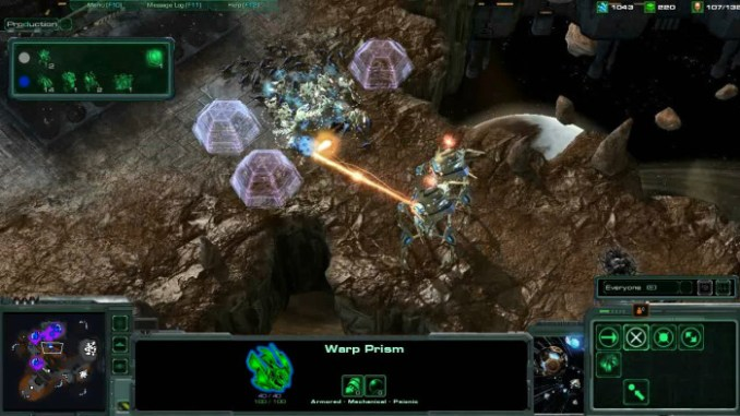 StarCraft II Wings of Liberty ScreenShot 3