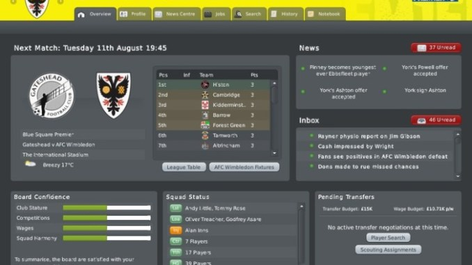 Football Manager 2010 ScreenShot 2