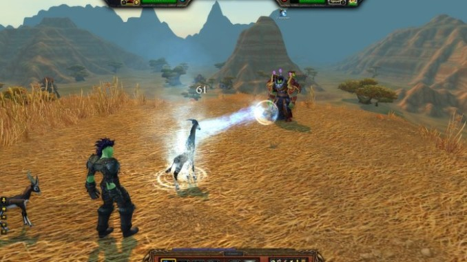 World of Warcraft Mists of Pandaria ScreenShot 1