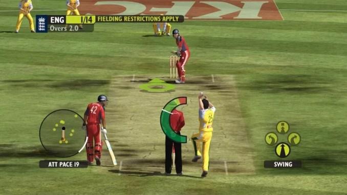 Ashes Cricket 2009 ScreenShot 1
