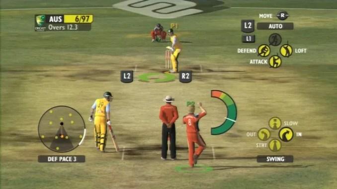 Ashes Cricket 2009 ScreenShot 2