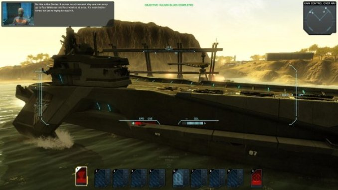 Carrier Command Gaea Mission ScreenShot 2
