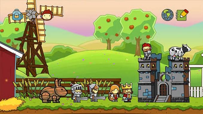 Scribblenauts Unlimited ScreenShot 1