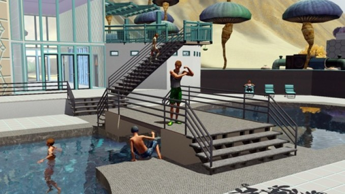 The Sims 3 Lunar Lakes ScreenShot 2