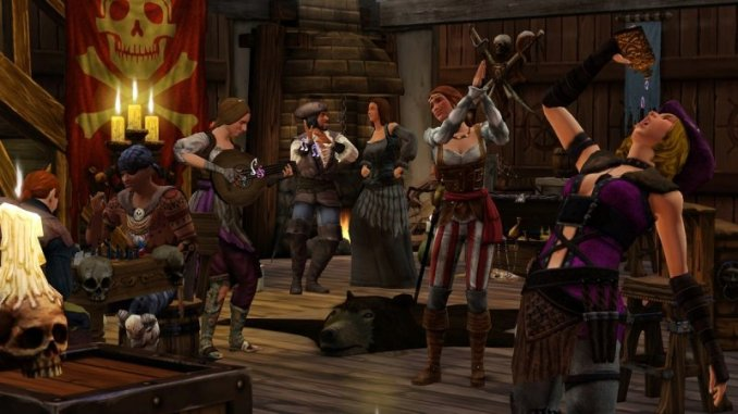 The Sims Medieval Pirates and Nobles Screen 1