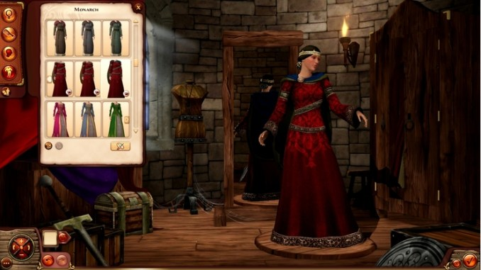 The Sims Medieval Pirates and Nobles Screen 2