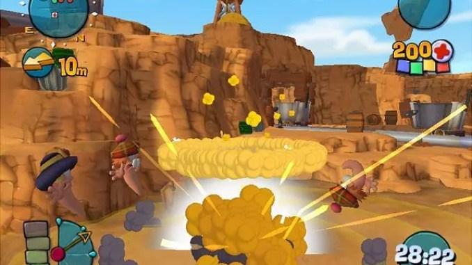 Worms 4 Mayhem ScreenShot 2