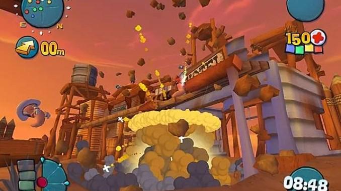 Worms 4 Mayhem ScreenShot 3
