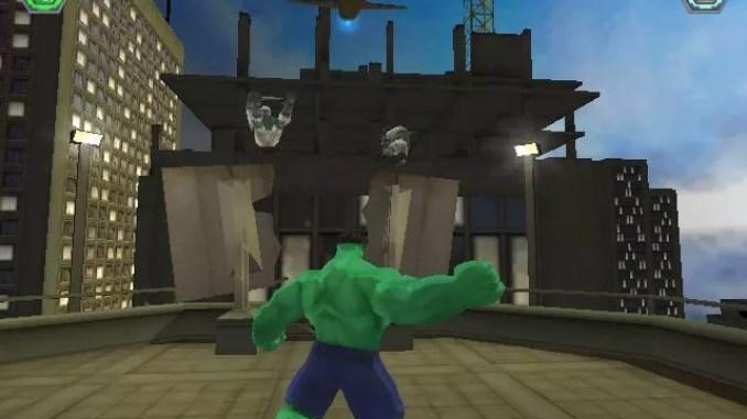 Hulk Vidoe Game ScreenShot 1