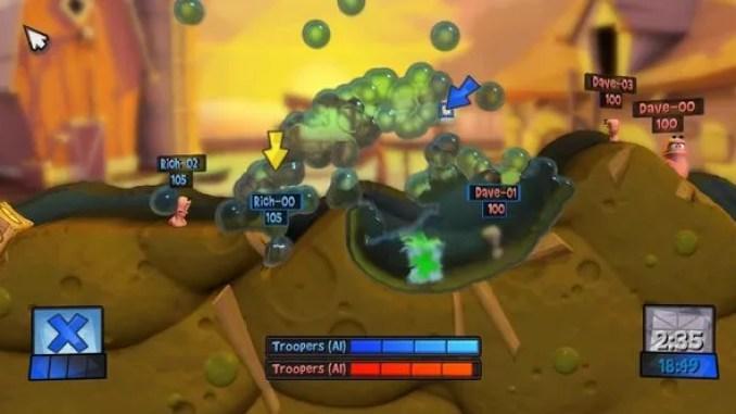 Worms Revolution ScreenShot 2