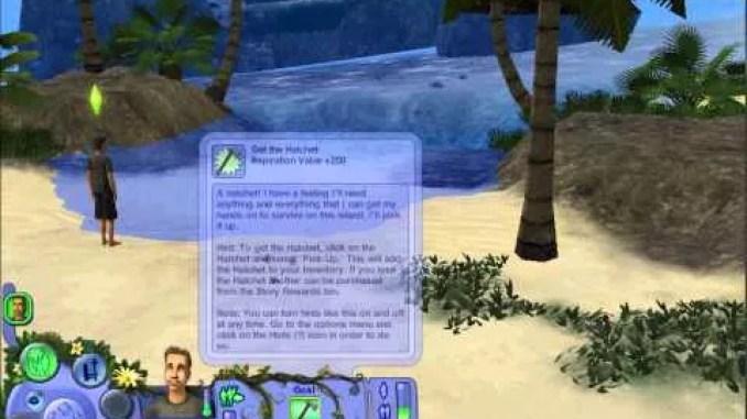 The Sims Castaway Stories ScreenShot 2