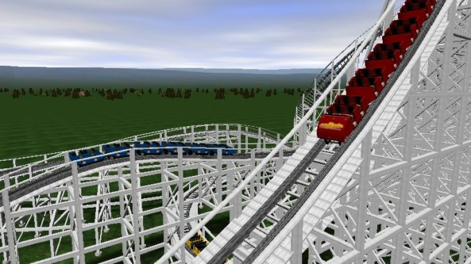 NoLimits Roller Coaster Simulation ScreenShot 2