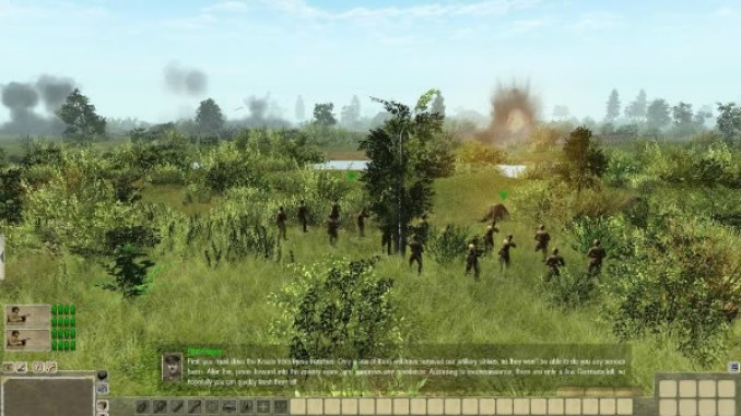 Men of War Condemned Heroes ScreenShot 1