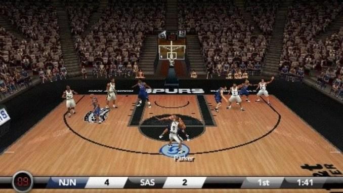 NBA Live 07 ScreenShot 2