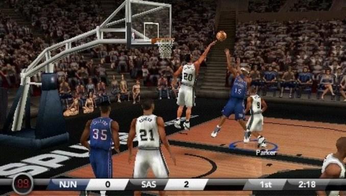 NBA Live 07 ScreenShot 3