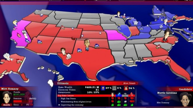 The Political Machine 2012 ScreenShot 2