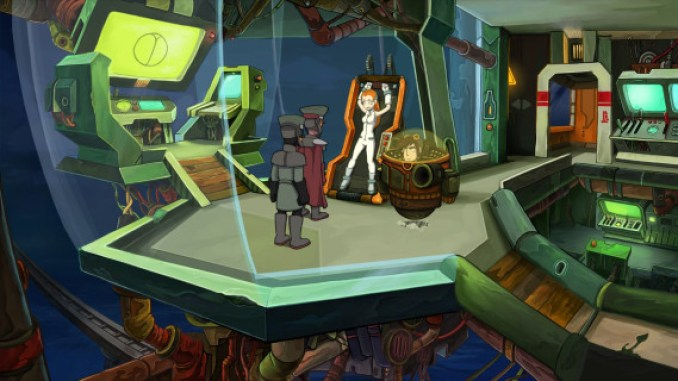 Goodbye Deponia ScreenShot 2