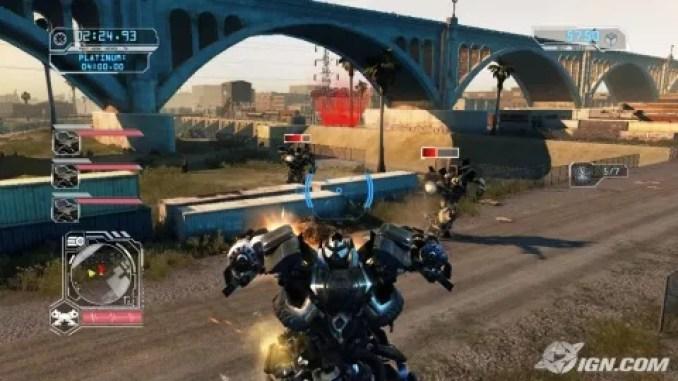 Transformers Revenge of the Fallen ScreenShot 1