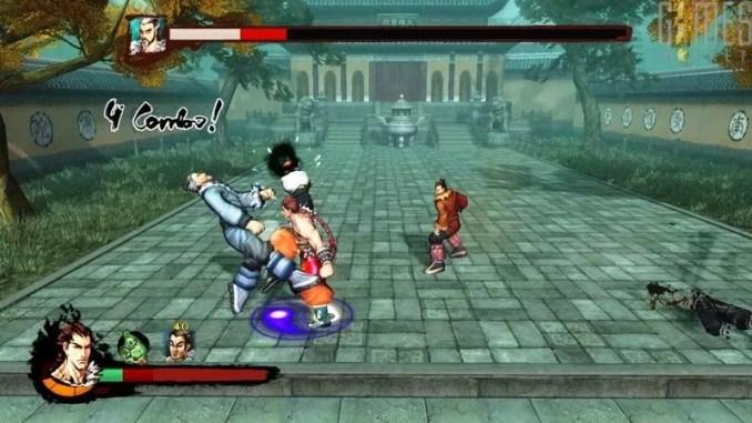 Kung Fu Strike The Warrior's Rise Game Screenshot 1