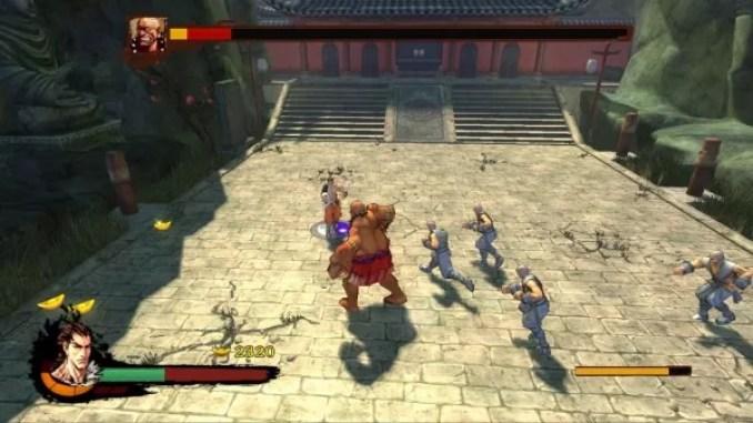 Kung Fu Strike The Warrior's Rise Game Screenshot 3