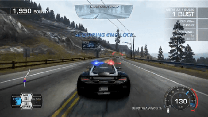 Need for Speed Hot Pursuit Game ScreenShot 2