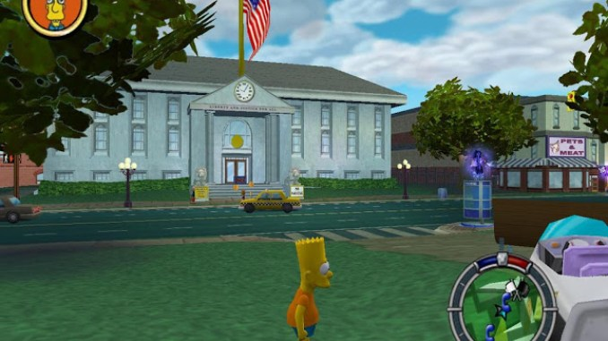 The Simpsons Hit Run Screenshot 2