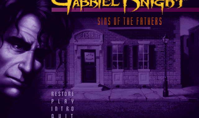 Gabriel Knight: Sins of the Fathers Free Full Download
