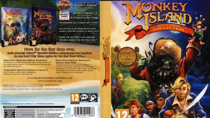 Monkey Island: Special Edition Collection Game Download