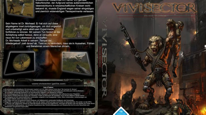 Vivisector Beast Within Full Game Free Download