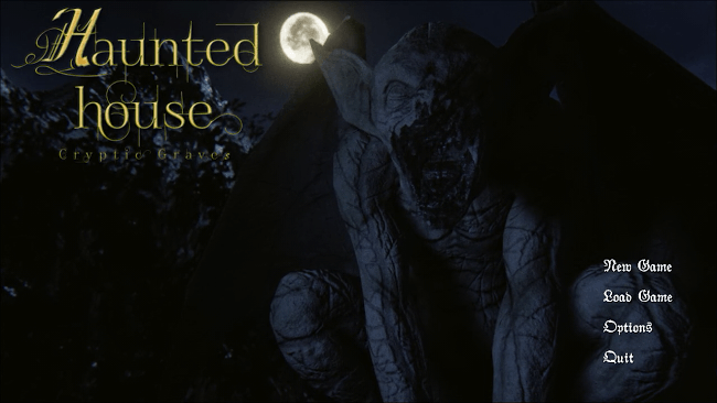 Haunted House Cryptic Graves