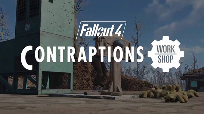 Fallout 4: Contraptions Workshop DLC Free Download
