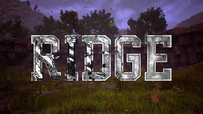 Ridge (2016) Full Free Game Download